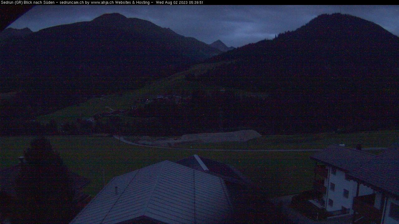 Sedrun / Gotthard Oberalp - Süden Richtung Surrein